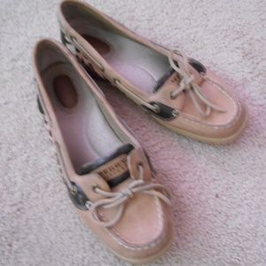 Sperry Top Sider Boat Shoes Womens Size 9M GC